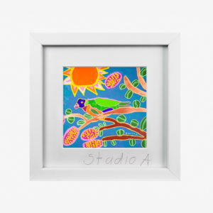 10257-studioa-10x8withmat-Tweety-Lorikeety-Emily-Crockford