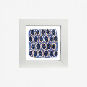 "4x4"" Framed Print, Gwibiirr by Gaawaa Miyay Designs"