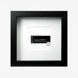 "Box Frame 8x8"" With 4×4″ Mat"