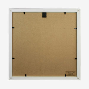 "Box Frame Square 14x14"" With 10×8″ Mat"