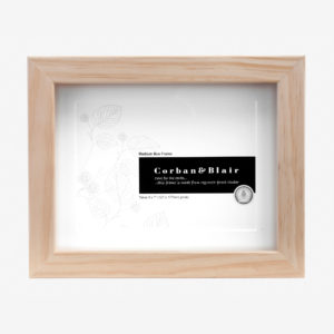 5x7 Box Frame natural