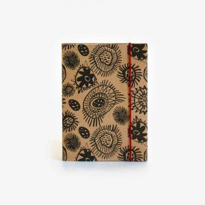 A6 Kraft Notebook, Yarragaa Mayrraa – Lucy Simpson Collaboration
