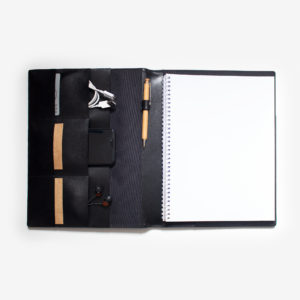 73550-A4-Slim-Leather-Compendium-black-2