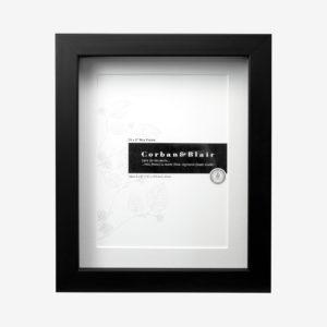 "Box Frame 10x8"" With 6×8″ Mat"