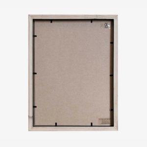 Twin Slim Box Frame white