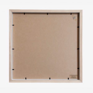 10x8 mat Slim Box Frame white