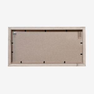 "Slim Box Frame Triple with 6x4"" Mat"