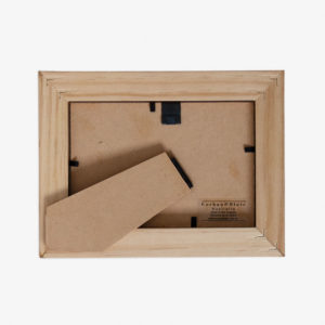 5x7 Block Frame back