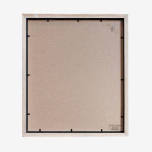 10x8 mat Slim Box Frame black