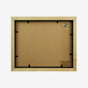 "Slim Box Frame with 6x4"" Mat"