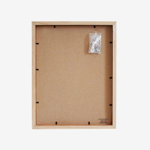 A4 mat Slim Box Frame white