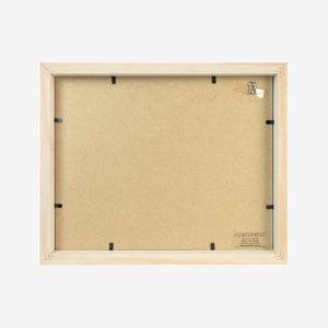 5x7 mat Slim Box Frame natural