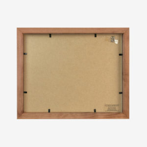 "Slim Box Frame with 5x7"" Mat"