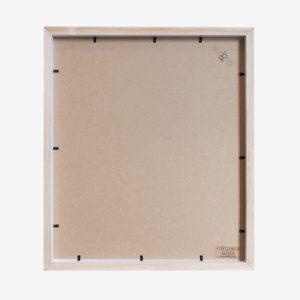 10x8 mat Slim Box Frame natural