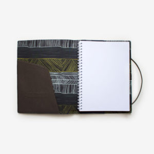 a5 journal wagibaa navy gaawaa miyay designs indigenous contemporary