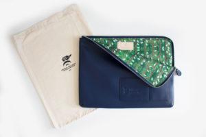 Liberty x Studio A collaboration travel set zip satchel