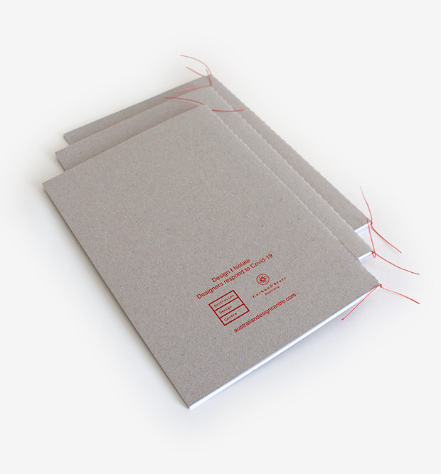 ADC handmade notebook with stitched spine