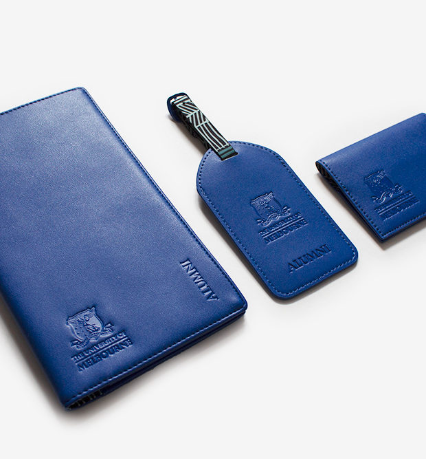 Melbourne University travel set blue Wagibaa