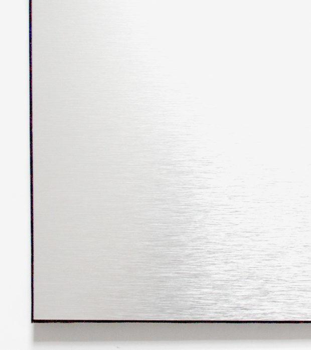 material aluminium brushed