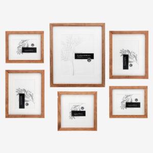 Slim Box 6 Piece Wall Of Frames