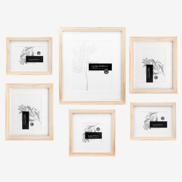 Slim Box 6 Piece Wall Of Frames