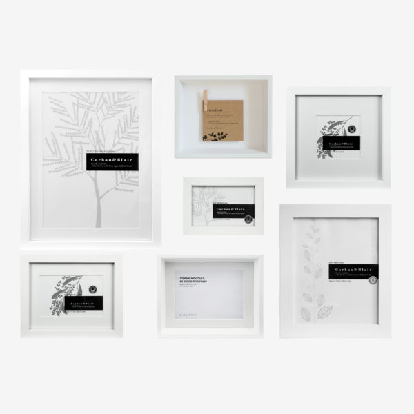 Mixed 7 Piece Wall Of Frames