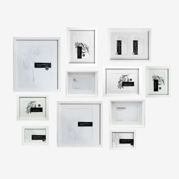 Mixed 11 Piece Wall Of Frames