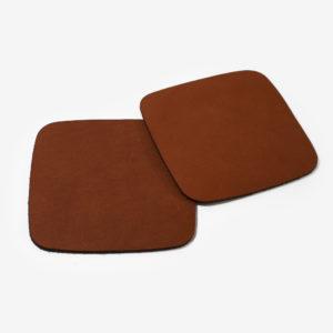 Artisan, Leather Coasters (Set Of 6)