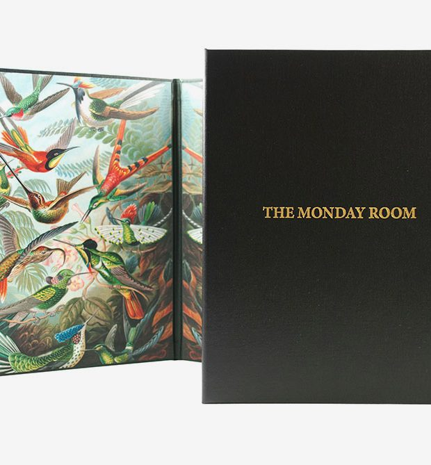 The Monday room menu digital print