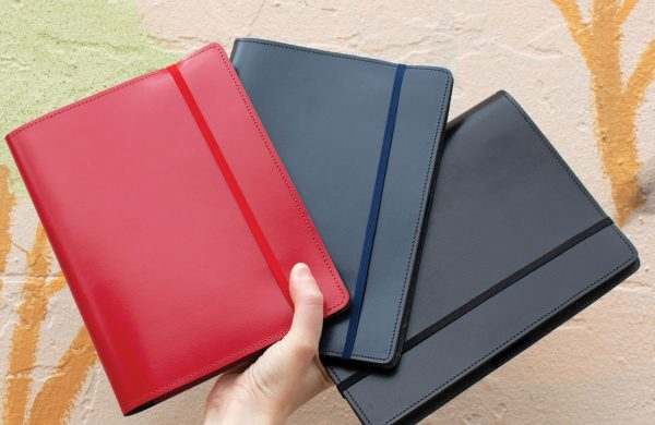 Australian made recycled leather journals