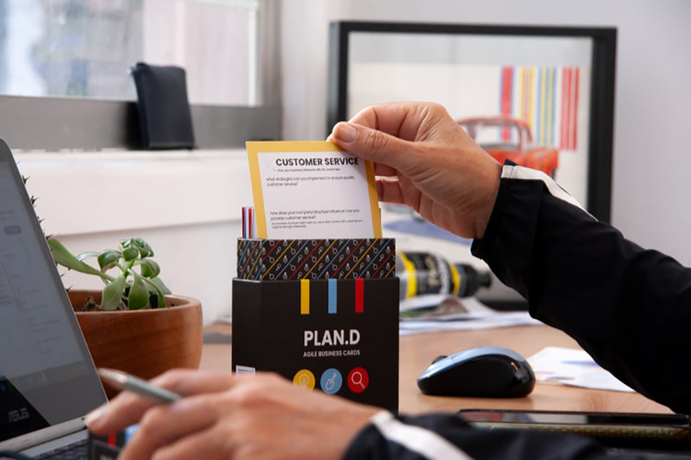 Plan.D Agile business cards