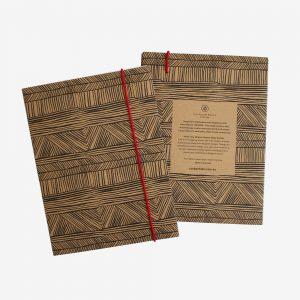 A5 Kraft Notebook, Wagibaa - Lucy Simpson Collaboration