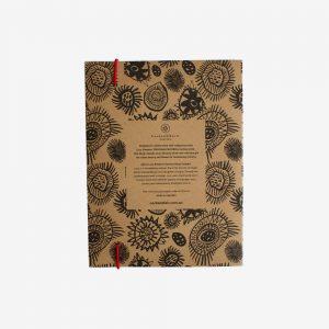 A5 Kraft Notebook, Yarragaa Mayrraal - Lucy Simpson Collaboration